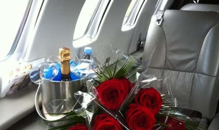 Charter Your Jet For Valentine's Day
